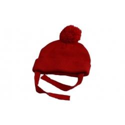 Čepice dětská zimní červená