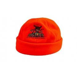 Dětská čepice fleecová oranžová