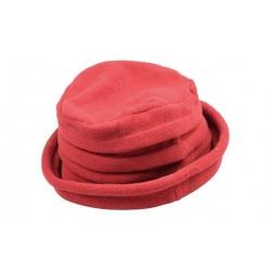 Klobouk fleecový červený