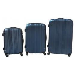 Kufr skořepinový – sada 3 kusů