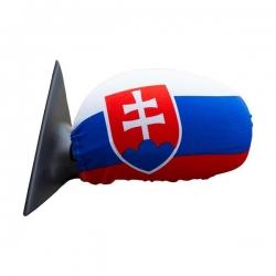 Návleky na spätné zrkadlá s motívom Slovenskej vlajky