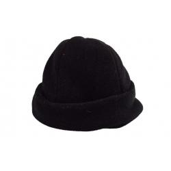 Čepice zimní fleecová černá