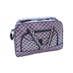 Cestovní taška šedofialová