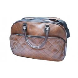 Cestovní taška tmavě hnědá