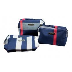 Kosmetická taška Beautiful life modrá