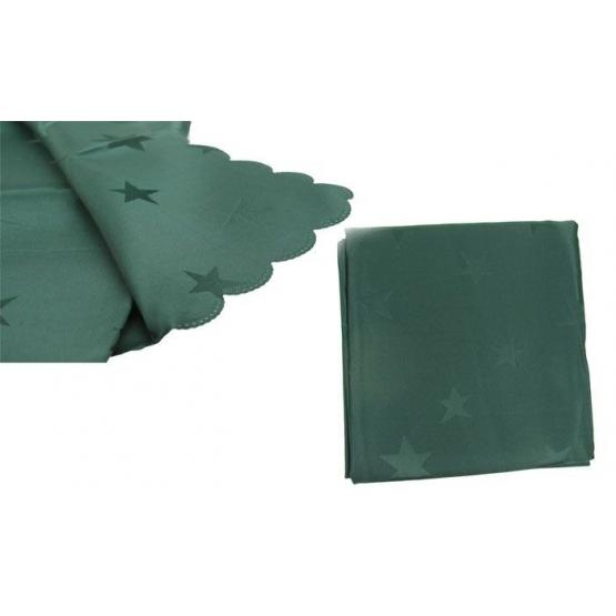 Ubrus Jacquard 80 x 80 cm zelený