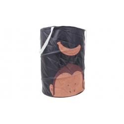 Dětský úložný box černý opice