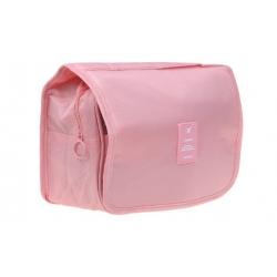 Kosmetická taška závěsná růžová
