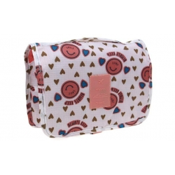 Kosmetická taška závěsná se srdíčky