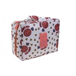 Kosmetická taška Travel se srdíčky