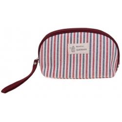 Kosmetická taška Handmade pruhovaná vzor 2