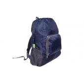 Skládací cestovní batoh tmavě modrý