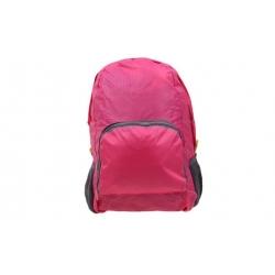 Skládací cestovní batoh růžový