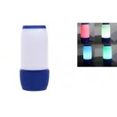 LED bluetooth reproduktor modrý