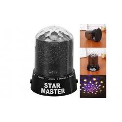 LED projektor s hvězdami
