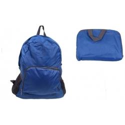 Skládací cestovní batoh modrý