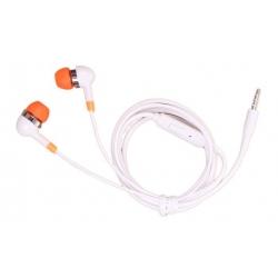 Drátová sluchátka oranžová
