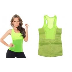 Hubnoucí tílko dámské zelené vel.XL