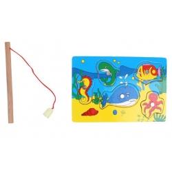 Mini magnetická hra chytání rybiček
