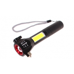 Multifunkční svítilna T6-28 červená