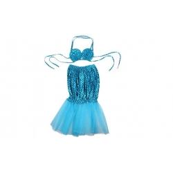 Kostým mořská panna modrý