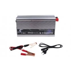 Měnič napětí 1000W a 10 Amps