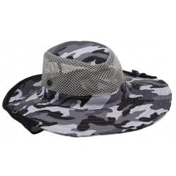 Rybářský klobouk maskáčový vzor 2
