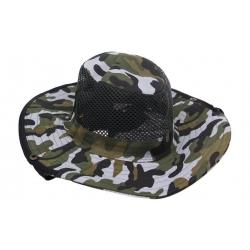 Rybářský klobouk maskáčový vzor 3