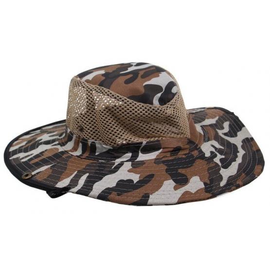 Rybářský klobouk maskáčový vzor 4