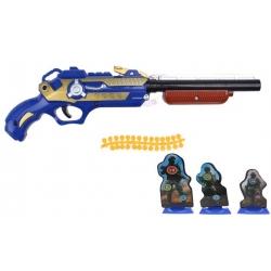 Dětská kuličková pistole modrá