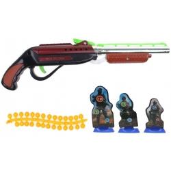 Dětská kuličková pistole červená