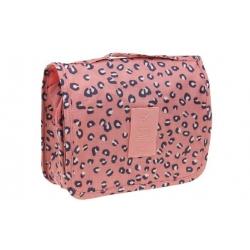Kosmetická taška závěsná leopardí