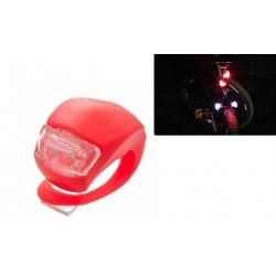 LED světlo na kolo červené