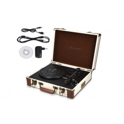 Gramofon v retro kufříku
