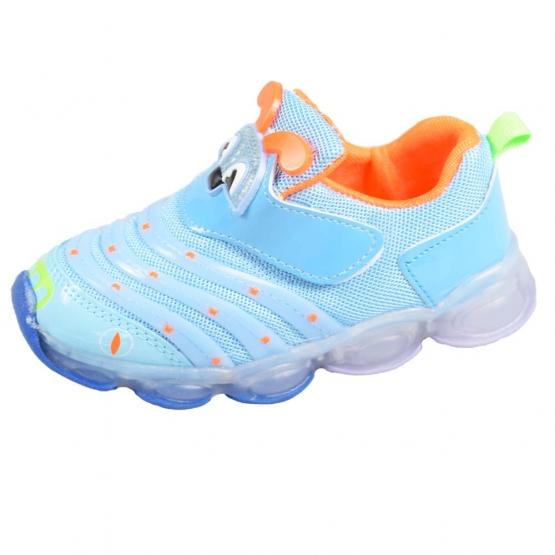 Detské tenisky blikajúce modré (chrobáčik) 22, 23, 24, 25, 26