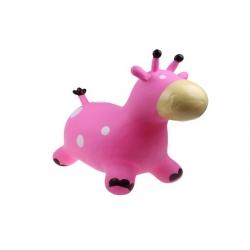 Hopsadlo pro děti – kravička růžová