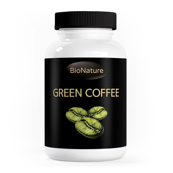 Bionature Green Coffee Bean extract 120 tbl.