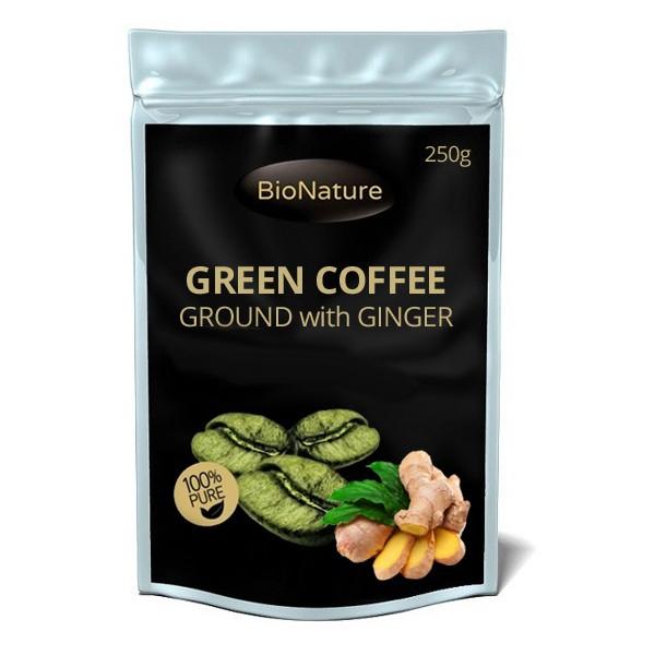 BIONATURE Green Coffee ground - ZÁZVOR 250g