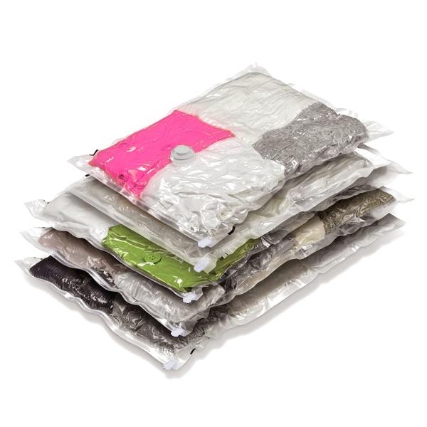 Vakuové pytle na oblečení 3ks 70x100 cm, 2ks 60x50 cm a 2ks 60x80