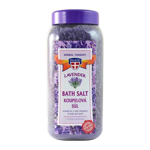 Palacio sůl do koupele Levandule 900 g