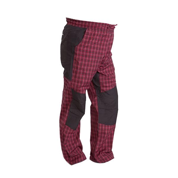 Pánské sportovní kalhoty - červené, L