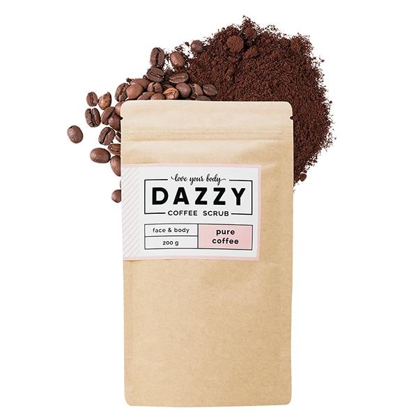 DAZZY Kávový peeling - pure coffee 200 g