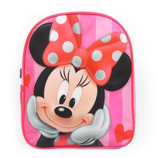 DISNEY Dětský batoh Minnie Mouse 33x28cm, růžový