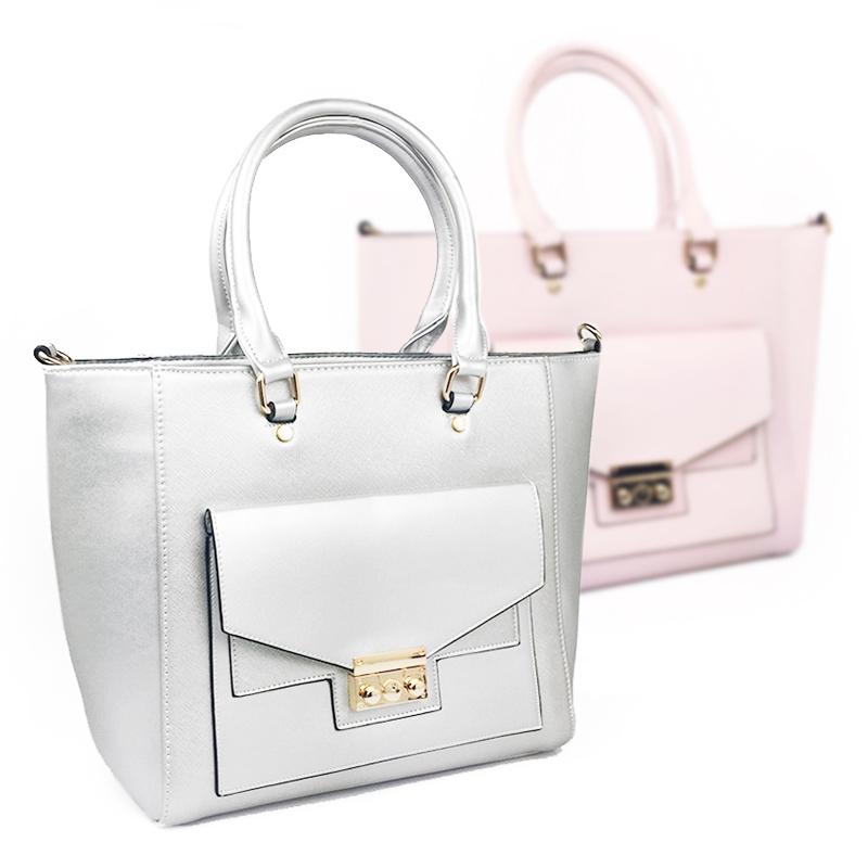 Orella Paris Dámska kabelka 2C3256 , Světle růžová