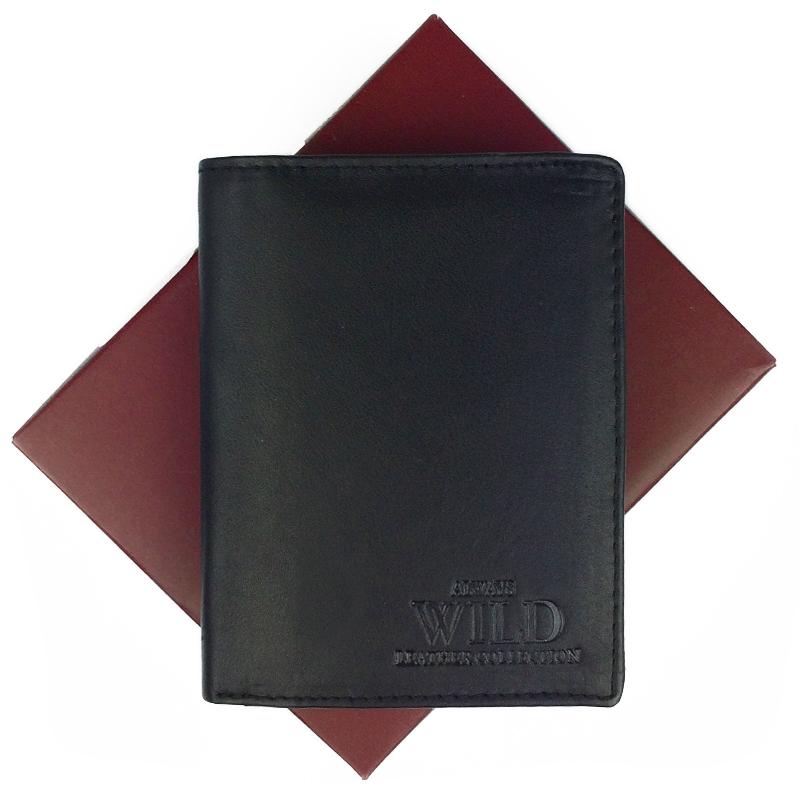 Always Wild Pánská peněženka N4-MHU, Černá