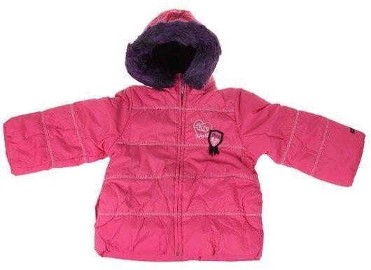 Dívčí zimní bunda Tokio růžová vel. 92