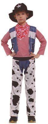 Dětský kostým kovboj vel. XL