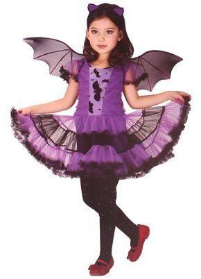 Dětský kostým netopýří dívka vel. L