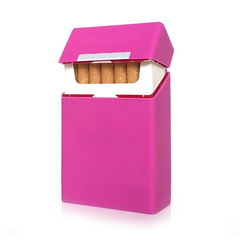 Plechová krabička na cigarety, Stříbrná