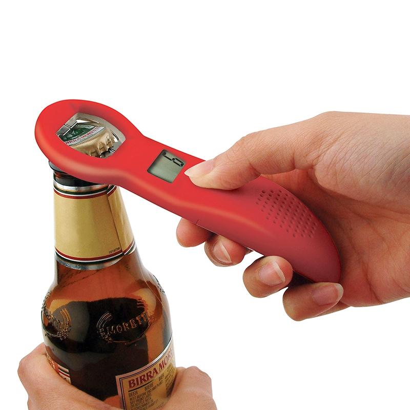 Digitální otvírák lahví